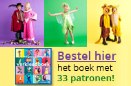 Knipmode verkleedboek