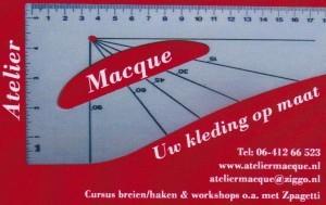 Atelier Macque Modemakennl